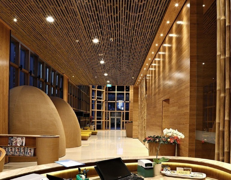 Interior Bambu Bank BTPN